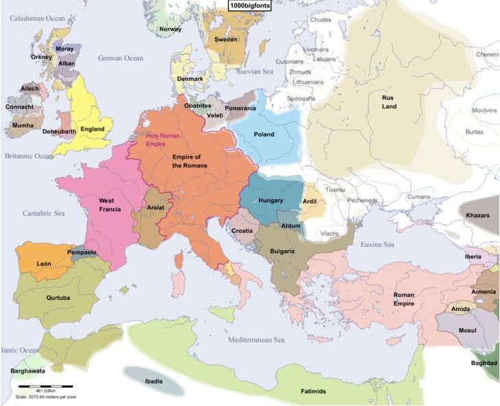 Раздел: старинные карты военных действий