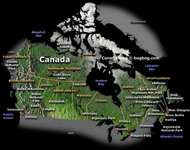 political map of quebec canada. 2010 map of manitoba 1870.